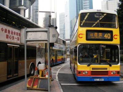 Busses in HK