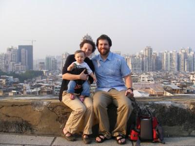 Macau family photo