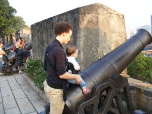 Fortaleza do Monte--cannon