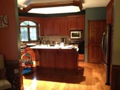 Kitchen to Brian's Mansion
