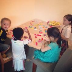 Fun with Play-dough