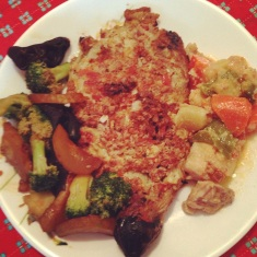 Filipino dish for dinner