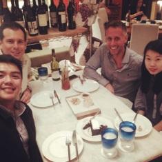 Dinner at Chelsea, Manila