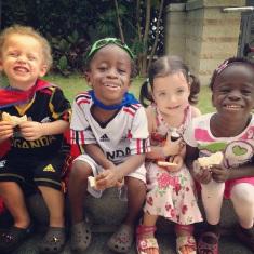 Kids with Zoe
