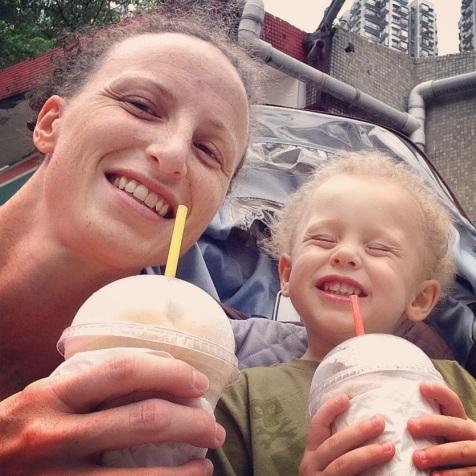 Mom & G selfie