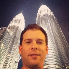 Selfie at Petronas Towers