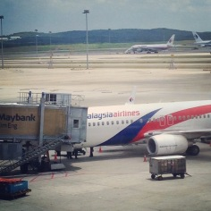Malaysian Air to Manila